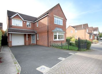 Thumbnail 4 bed detached house for sale in Grovefield Crescent, Balsall Common, Coventry