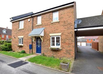 Thumbnail 3 bed end terrace house for sale in Melcombe Close, Ashford, Kent