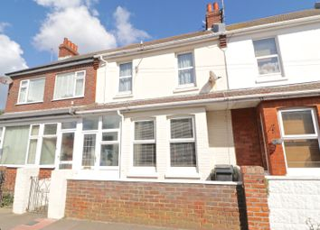 Thumbnail 3 bed terraced house for sale in Channel View Road, Eastbourne, East Sussex