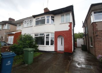 Thumbnail 3 bed semi-detached house for sale in Arundel Drive, Harrow