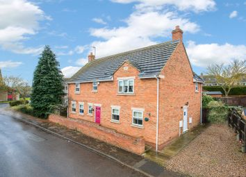 Thumbnail 4 bed detached house for sale in Wood Street, Geddington