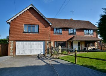 Thumbnail 4 bedroom detached house for sale in London Road, Coldwaltham, Pulborough