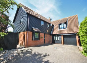 Thumbnail 4 bed detached house for sale in Acres End, Chelmsford