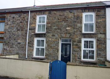 Thumbnail 4 bed terraced house for sale in Dunraven Street, Treherbert