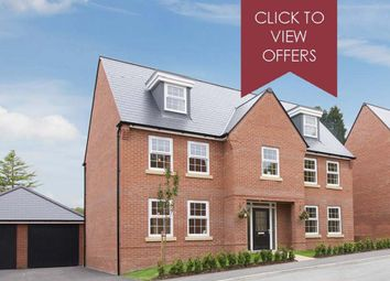 """Thumbnail 5 bed detached house for sale in """"Lichfield"""" at Woodcock Square, Mickleover, Derby"""