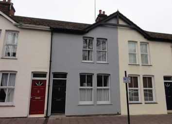Thumbnail 2 bedroom terraced house to rent in Mustow Street, Bury St. Edmunds