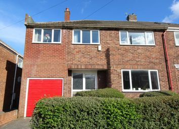 Thumbnail 5 bed semi-detached house for sale in Grange Road, Carrville, Durham