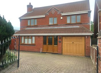 Thumbnail 4 bed detached house to rent in Burgoyne Street, Cannock