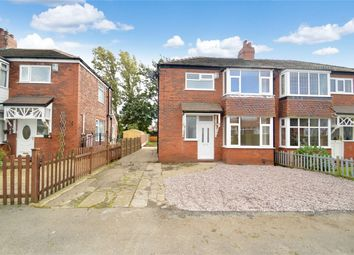 Thumbnail 3 bed semi-detached house to rent in Ross Avenue, Davenport, Stockport, Cheshire