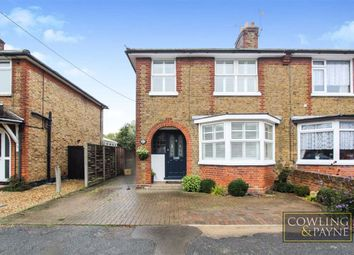 Thumbnail 3 bed semi-detached bungalow for sale in Wick Drive, Wickford, Essex