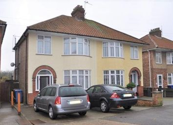 Thumbnail 3 bedroom semi-detached house for sale in Castle Road, Ipswich