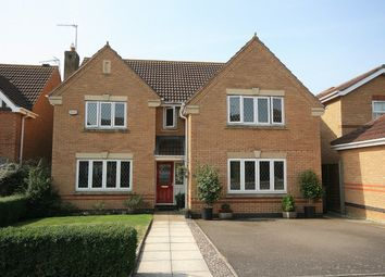 Thumbnail 4 bed detached house for sale in Woodgate Road, Wootton Fields, Northampton