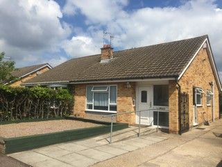 Thumbnail 2 bed bungalow to rent in Coles Close, Leicester