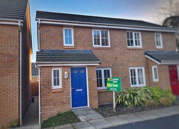 Thumbnail 2 bed terraced house for sale in Heol Senni, Bettws, Newport