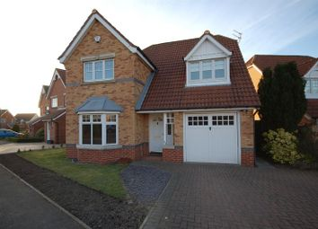 Thumbnail 4 bedroom detached house for sale in Greenhills, Killingworth, Newcastle Upon Tyne