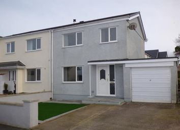 Thumbnail 3 bedroom semi-detached house for sale in Mill Lodge, Llandegfan, Anglesey, North Wales