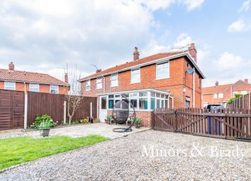 Thumbnail 3 bed semi-detached house for sale in Marshall Road, Norwich