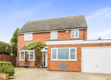 Thumbnail 5 bedroom detached house for sale in Briar Walk, Oadby, Leicester