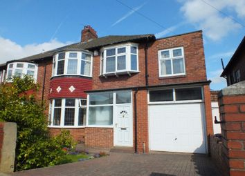 Thumbnail 4 bedroom semi-detached house for sale in Bourne Avenue, Fenham, Newcastle Upon Tyne