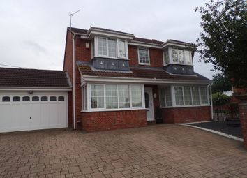 Thumbnail 4 bedroom detached house to rent in Trinity Park, Houghton Le Spring