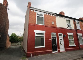 Thumbnail 2 bed end terrace house to rent in Thelwall Lane, Latchford, Warrington