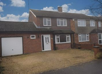 Thumbnail 4 bed semi-detached house for sale in Manor Road, Toddington, Dunstable