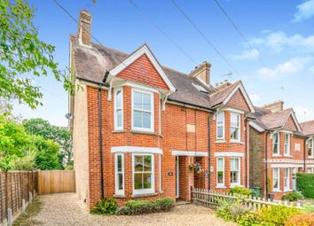 Thumbnail 2 bed semi-detached house to rent in Church Road, Mannings Heath, Horsham
