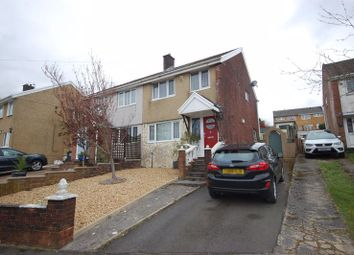 Thumbnail 3 bed semi-detached house for sale in 68 Woodview, Cimla, Neath