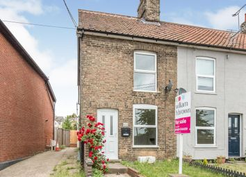 Thumbnail 2 bed end terrace house for sale in Creeting Road, Stowmarket