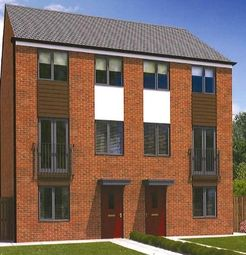 "Thumbnail 3 bed terraced house for sale in ""The Greyfriars"" at St. Aloysius View, Hebburn"