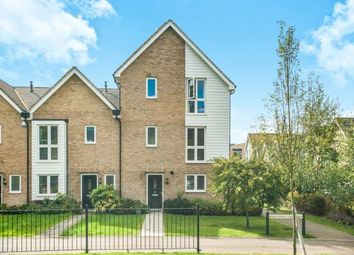 Thumbnail 4 bed end terrace house for sale in Butterfly Crescent, Nash Mills Wharf, Hemel Hempstead, Hertfordshire