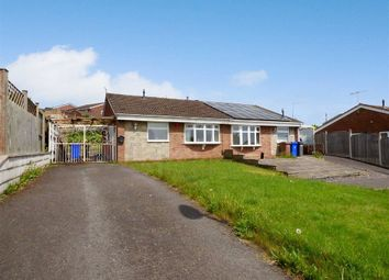 Thumbnail 2 bed semi-detached bungalow for sale in Westmorland Close, Wedgewood Farm Estate, Stoke-On-Trent