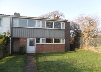 Thumbnail 3 bed end terrace house for sale in Valentine Close, Fareham