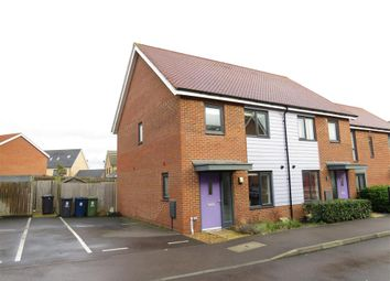 Thumbnail 2 bedroom semi-detached house for sale in Oxford Way, Upper Cambourne, Cambridge