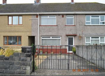Thumbnail 3 bed terraced house for sale in Heol Maes Y Cerrig, Swansea