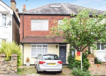 Thumbnail 3 bedroom semi-detached house for sale in Worthington Road, Surbiton