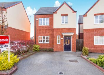 Thumbnail 3 bed town house for sale in Lockley Gardens, Sapcote, Leicester