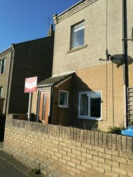 Thumbnail 2 bed semi-detached house to rent in Station Road, North Broomhill, Morpeth
