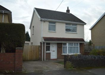 Thumbnail 3 bed detached house for sale in Glebe Road, Swansea