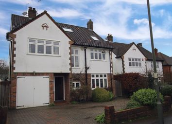 Thumbnail 5 bed detached house for sale in Woodcote Park Road, Epsom