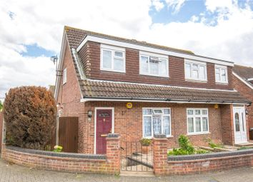 Thumbnail 3 bed semi-detached house for sale in Rivington Crescent, Mill Hill, London