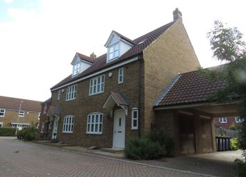 Thumbnail 3 bed end terrace house for sale in Harebell Drive, Yaxley, Peterborough