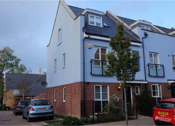 Thumbnail 4 bed terraced house for sale in Laurens Van Der Post Way, Ashford