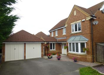 Thumbnail 4 bed detached house for sale in Rookery Avenue, Sleaford