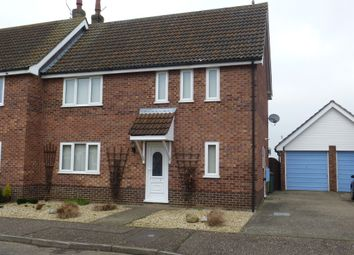 Thumbnail 3 bedroom semi-detached house for sale in Hamilton Close, Watton, Thetford
