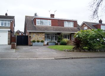 Thumbnail 3 bed semi-detached house for sale in Huntingdon Close, Broxbourne
