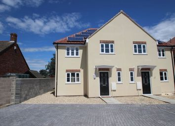 Thumbnail 4 bed semi-detached house for sale in Oxenpill, Meare, Glastonbury