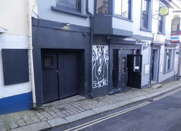 Thumbnail Retail premises to let in Ground And Lower Ground Floor, 4, Quay Hill, Falmouth