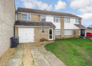 Thumbnail 4 bed semi-detached house for sale in Hayling Avenue, Little Paxton, St. Neots