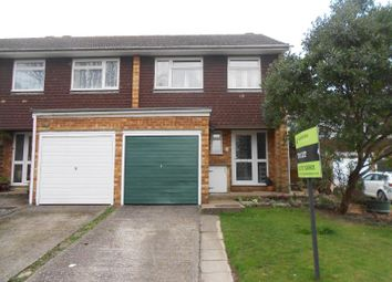Thumbnail 3 bed semi-detached house to rent in Ridgeway Road, Redhill